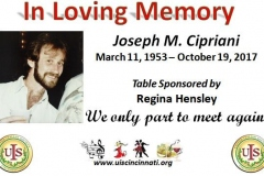 In Memory of JosephCipriani